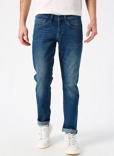 Mustang Jean Pantolon Taş